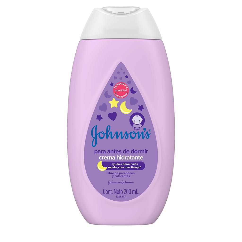 Crema Hidratante Antes de Dormir JOHNSON'S® baby