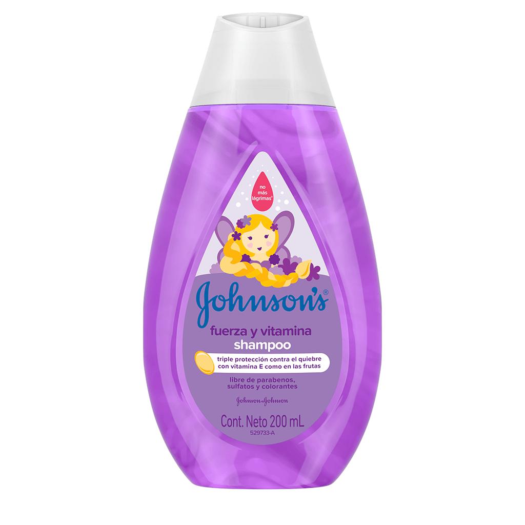 JOHNSON'S® baby Shampoo Fuerza y Vitamina