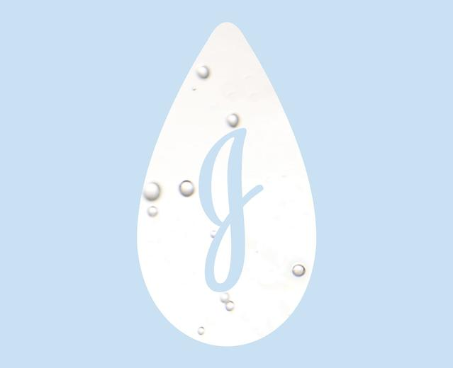 Johnson's® logo lagrima de bebé